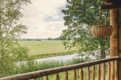 Glamping in een boomhut op vakantiepark Molke in Twente 9