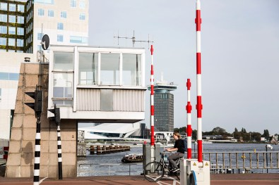 Slapen in brugwachtershuisje Amsterdam 13