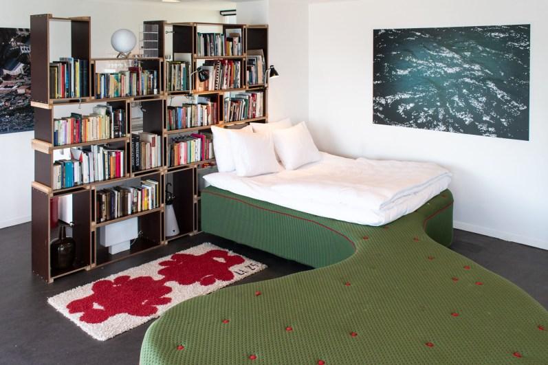 Slapen in brugwachtershuisje Amsterdam 23