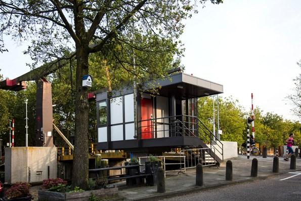 Slapen in brugwachtershuisje Amsterdam 27