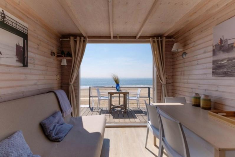 Slapen in een strandhuisje Vlissingen Zeeland Roompot 15