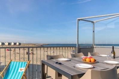 Slapen in een strandhuisje Zeeland Roompot Beach Resort Kamperland 4