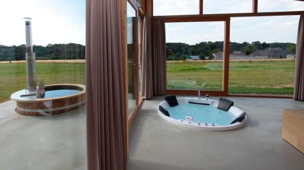 Luxe natuurhuis met hottub en jacuzzi Sint Geertruid Limburg 10