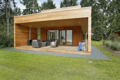 Luxe natuurlodge Woody Lodge Valerie Schuttenbelt in de bossen van Twente 1