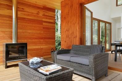Luxe natuurlodge Woody Lodge Valerie Schuttenbelt in de bossen van Twente 3