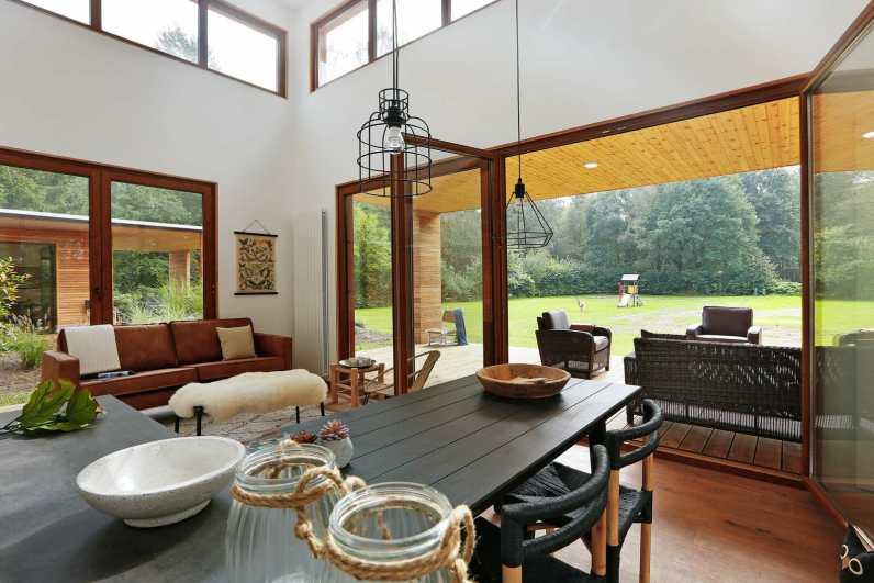 Luxe natuurlodge Woody Lodge Valerie Schuttenbelt in de bossen van Twente 9