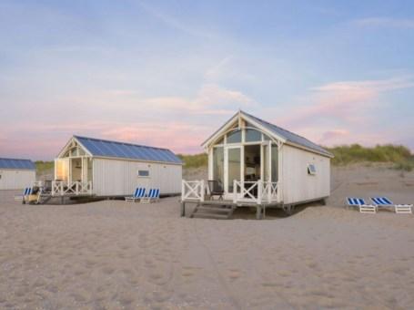Haagse strandhuisjes in Kijkduin
