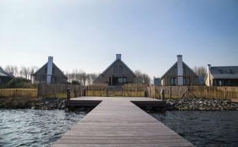 Slapen in Piet Boon watervilla Oesterdam in Tholen Zeeland 3