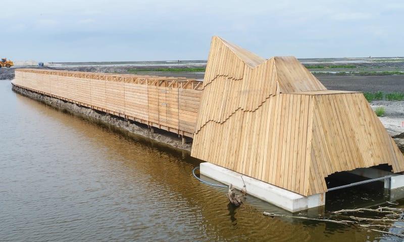Landal Marker Wadden eilandhuisje slapen op een eiland Nederland 7