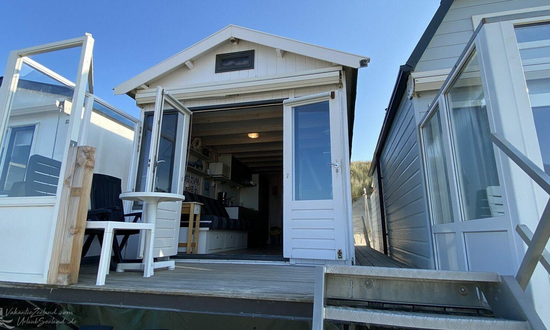 Slapen op het strand particuliere strandhuisjes in Zeeland - Vlissingen 1