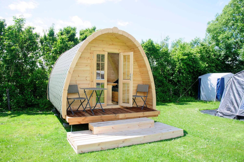 Slapen in een Camping Pod aan de Zeeuwse kust