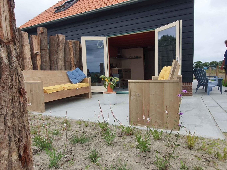 Slapen in een tiny house aan de Zeeuwse kust