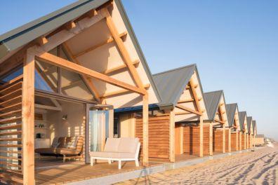 Bijzondere Overnachting Slapen op het strand in een strandhuisje noordzee resort vlissingen-beachhouses-4