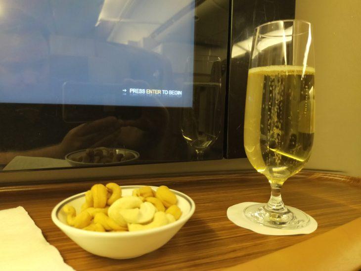Singapore Airlines First Class Jakarta