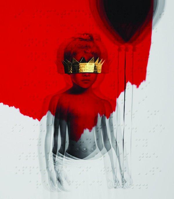 Rihanna Anti Albüm Kapağı