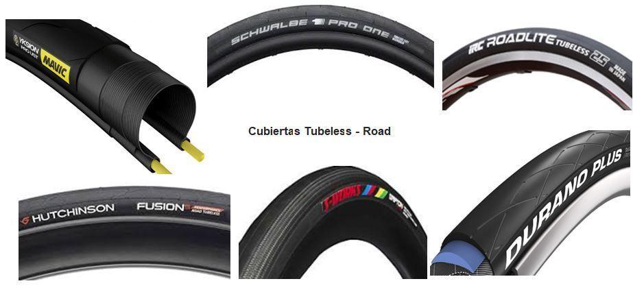 10 Cubiertas Carretera Tubeless Ready
