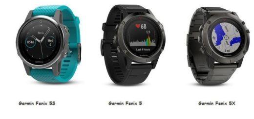 Reloj Garmin Fenix 5 , 5S y 5X