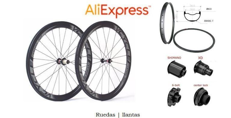 Compras en Aliexpress Ruedas y llantas