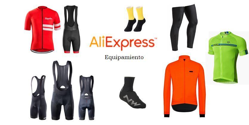 Compras en Aliexpress de equipamiento