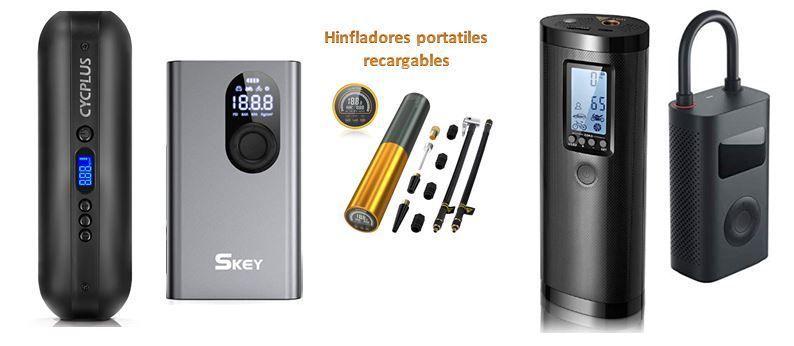 Compresores portátiles de batería recargable