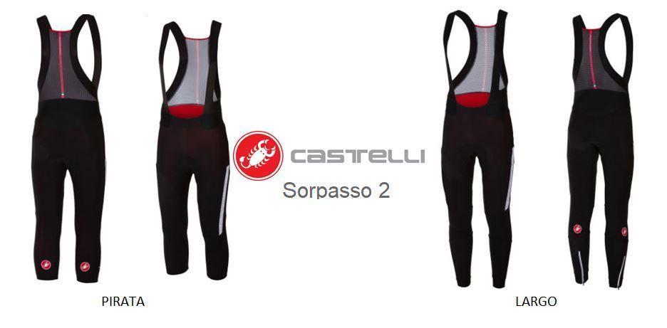 Culotte largo Castelli Sorpasso 2