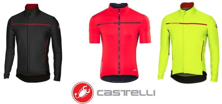 Maillot Castelli Perfetto Light Windstopper LS & SS
