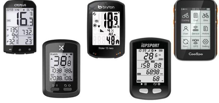 Ciclocomputadores GPS baratos