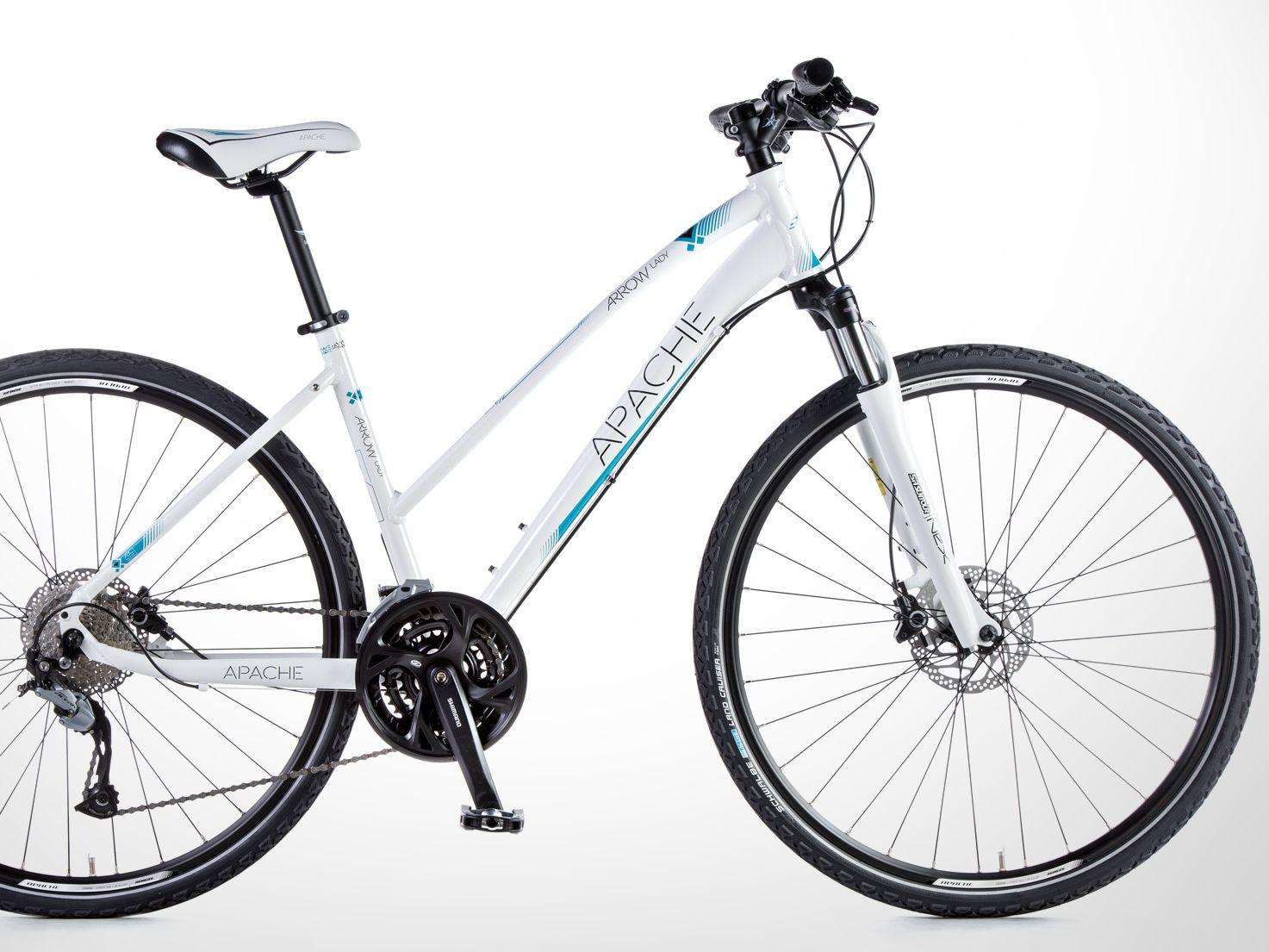 Apache Arrow Lady bílá 2018 | Bike-Eshop.CZ