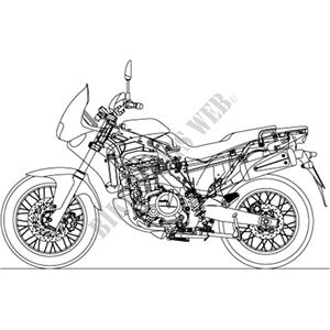 Pegaso IE 2002 PEGASO 650 APRILIA MOTORCYCLES Aprilia