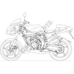2003 TUONO 50 APRILIA MOTORCYCLES Aprilia motorcycle