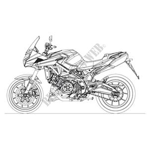2009 SHIVER 750 APRILIA MOTORCYCLES Aprilia motorcycle