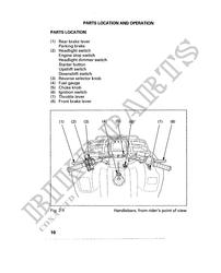 TRX450ESW Honda user manuals # HONDA Motorcycles & ATVS