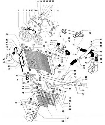 # HONDA Motorcycles & ATVS Genuine Spare Parts Catalog