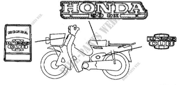 Honda 11980 ALL COUNTRY Motorcycle Photo Gallery HONDA