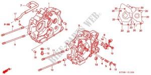 CRANKCASE OIL PUMP Engine ANF125MR9 2009 WAVE 125 MOTO