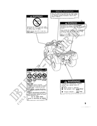 TRX450SY Honda user manuals # HONDA Motorcycles & ATVS
