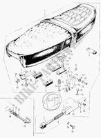 Chassis CB750K0 1969 CB 750 MOTO Honda motorrad # HONDA