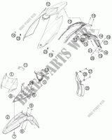 FRAME for HVA FS 570 2011 # Husqvarna Motorcycles