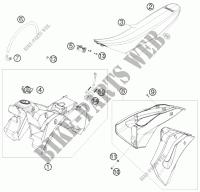 FRAME for Husqvarna FS 570 2011 # Husqvarna Motorcycles