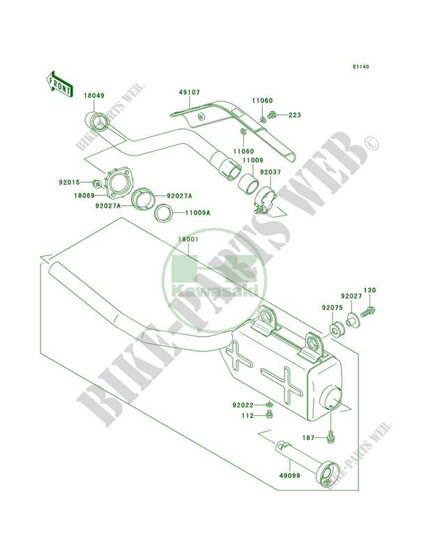 Wiring Diagram PDF: 2003 Kawasaki Bayou Wiring Diagram