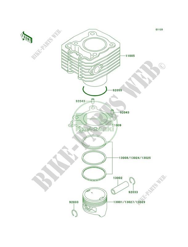 kawasaki bayou 220 engine diagram - best place to find wiring and - kawasaki  bayou 400