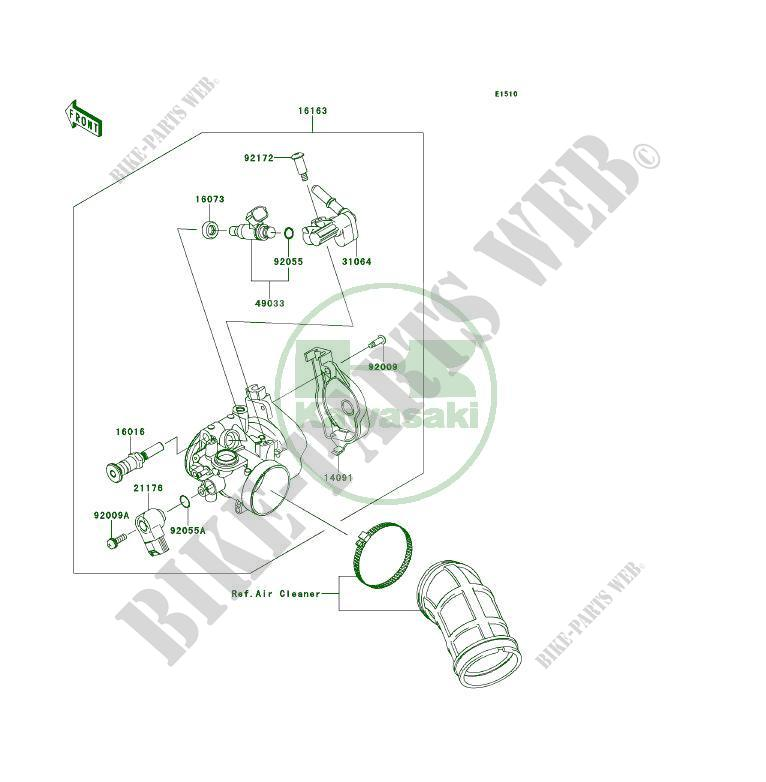 Kawasaki Kfx450r Engine Part Diagram. Kawasaki. Wiring
