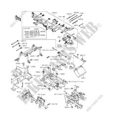 2016 Kawasaki Brute Force 750 Wiring Diagram Schumacher Battery Charger Chassis Electrical Equipment Kvf750hff 4x4i Eps 2015 Quad