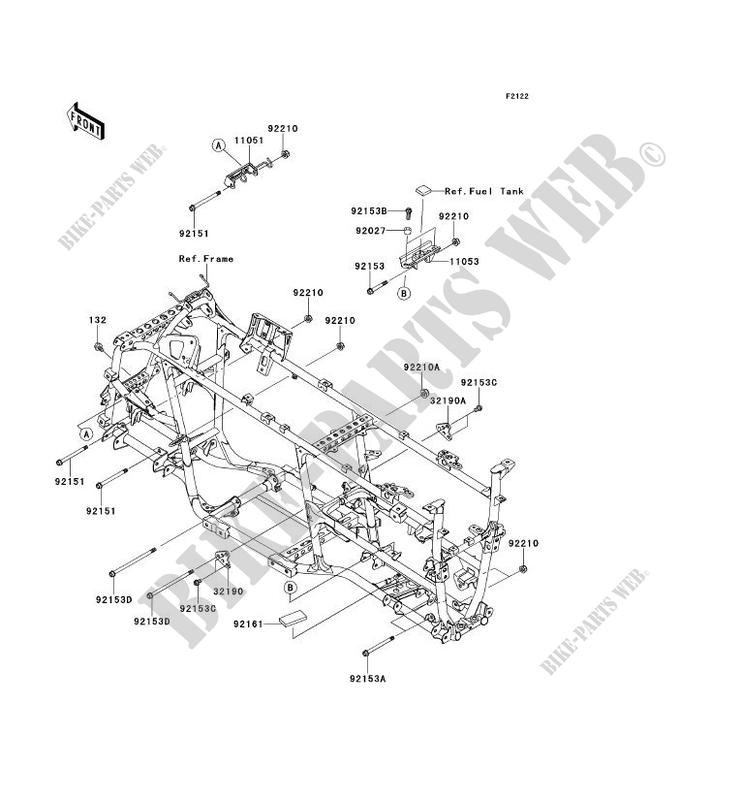 ENGINE MOUNT for Kawasaki BRUTE FORCE 750 4X4I EPS 2014