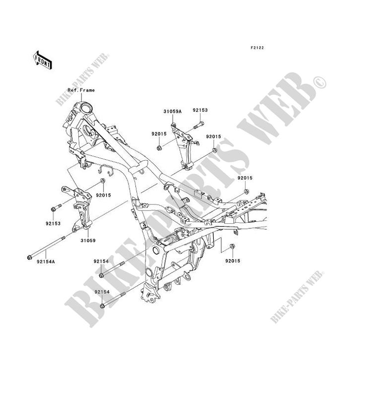 kawasaki ninja 250r engine diagram