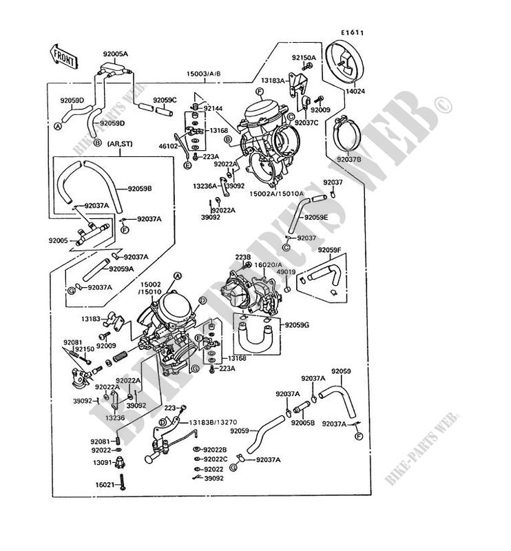 CARBURETOR for Kawasaki VN-15 1995