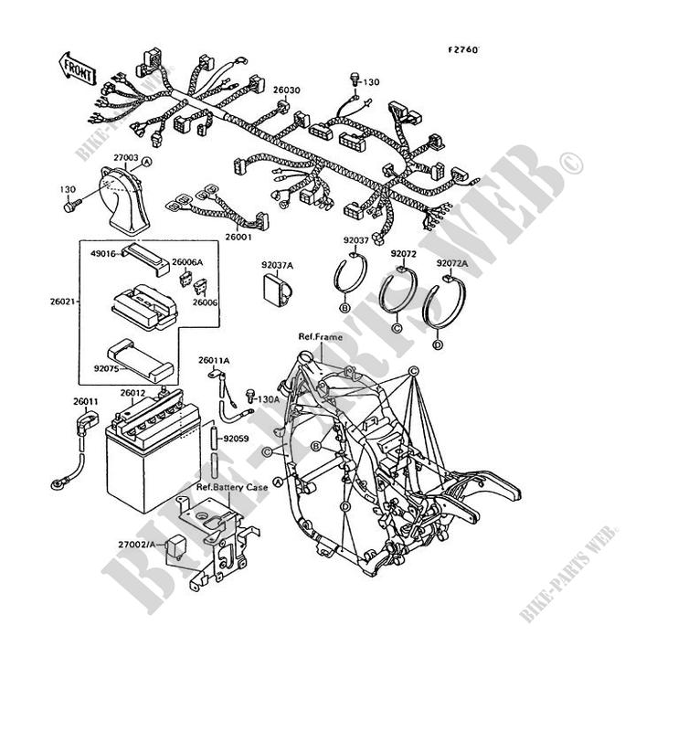 CHASSIS ELECTRICAL EQUIPMENT for Kawasaki VN-15 1995
