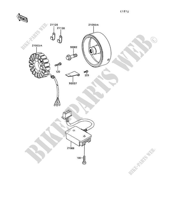 Electrical Wiring Kawasaki Barako 175 Wiring Diagram