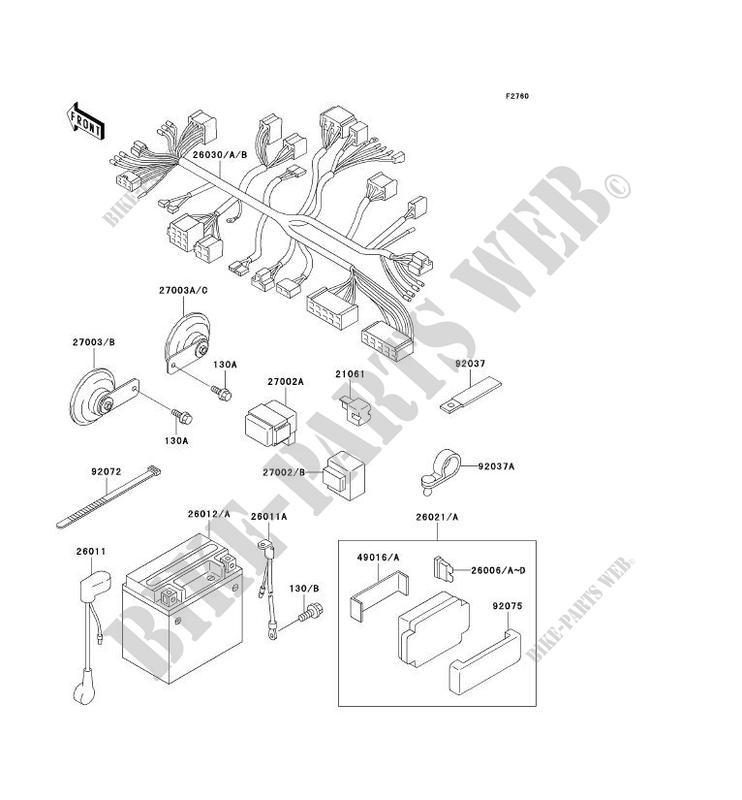 Kawasaki Zephyr 1100 Wire Diagram. Kawasaki. Wiring