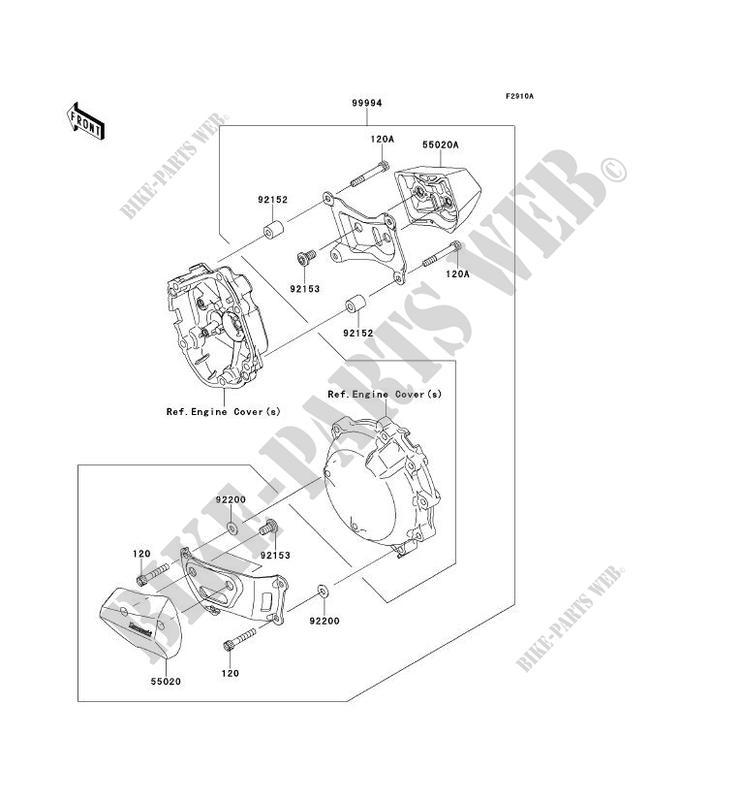 ACCESSORY (PROTECTION MOTEUR) for Kawasaki NINJA ZX-10R
